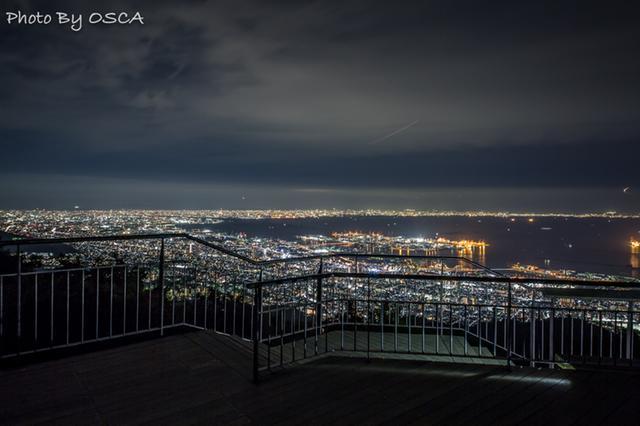 摩耶山 掬星台 から眺める日本三大夜景