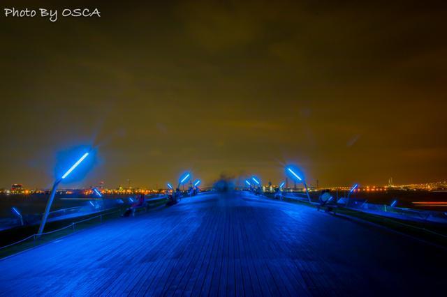 横浜大さん橋の夜景